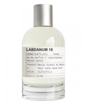 سمپل لی لابو لبدانوم 18 Sample Le Labo Labdanum 18