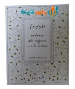 سمپل فرش سیترون دی وین Sample Fresh Citron de Vigne