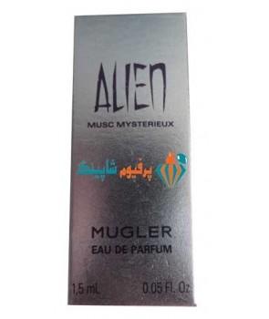 سمپل موگلر الین مشک میستریو زنانه Sample Mugler Alien Musc Mysterieux