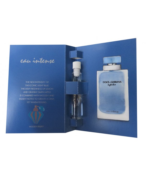 دلچه اند گابانا لایت بلو ایو اینتنس زنانه Dolce&Gabbana Light Blue Eau Intense