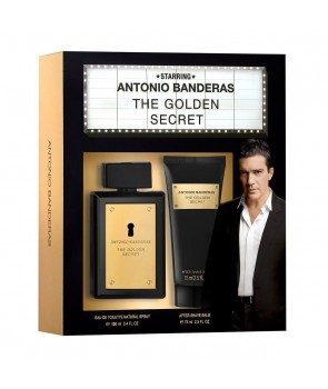 ست هدیه آنتونیو باندراس د گلدن سیکرت مردانه Gift Set Antonio Banderas The Golden Secret