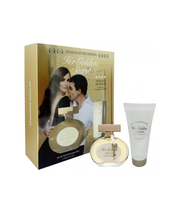 ست هدیه آنتونیو باندراس هر گلدن سیکرت زنانه Gift Set Antonio Banderas Her Golden Secret