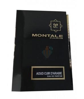 سمپل مونتال عود کویر دی عربی مردانه Sample Montale Aoud Cuir d Arabie