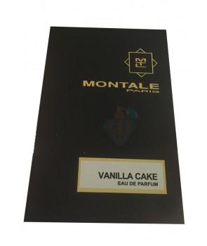 سمپل مونتال وانیلا کیک Sample Montale Vanilla Cake