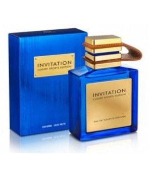 Invitation Blue Emper for men