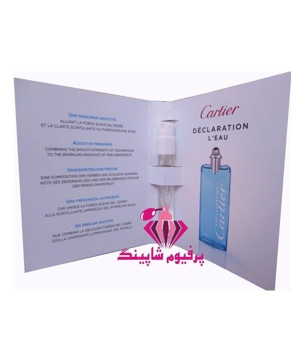 Declaration L Eau Cartier for men