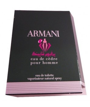 Sample Armani Eau de Cèdre Giorgio Armani for men