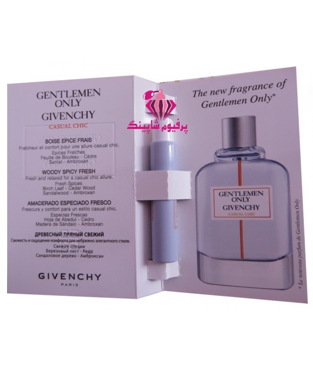 Sample Gentlemen Only Casual Chic Givenchy for men