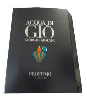 Sample Acqua di Gio Profumo Giorgio Armani for men