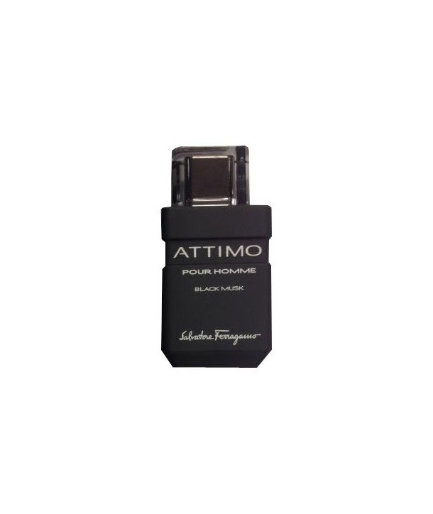 Attimo Black Musk Salvatore Ferragamo for men