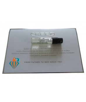 Sample Spice and Wood Creed for women and men
