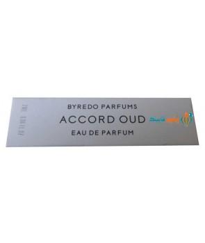 سمپل بایردو آکورد عود Sample Byredo Accord Oud